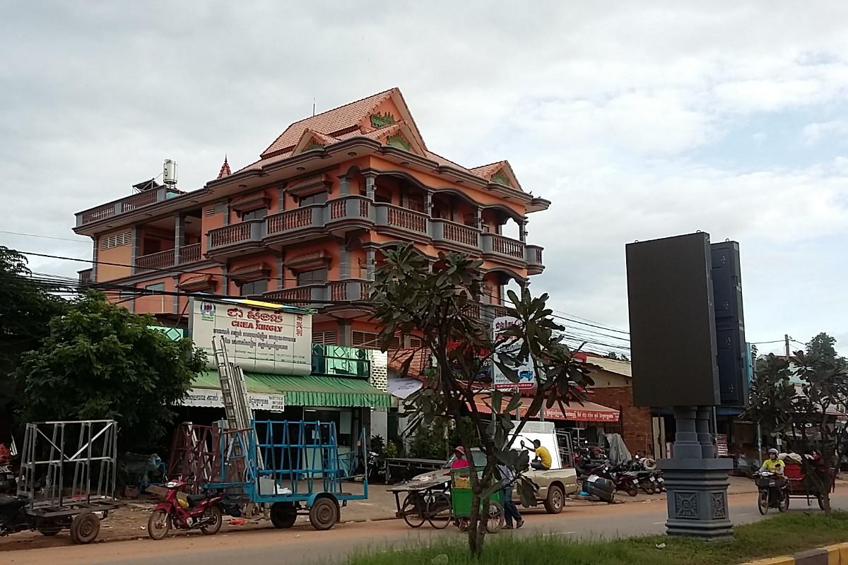 Phnom Penh - przedmieścia