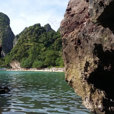 Railay z wody