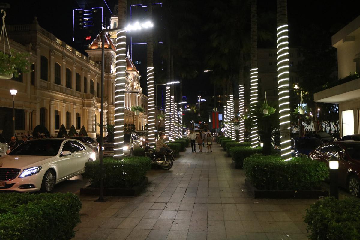 Ho Chi Minh (Sajgon) nocą