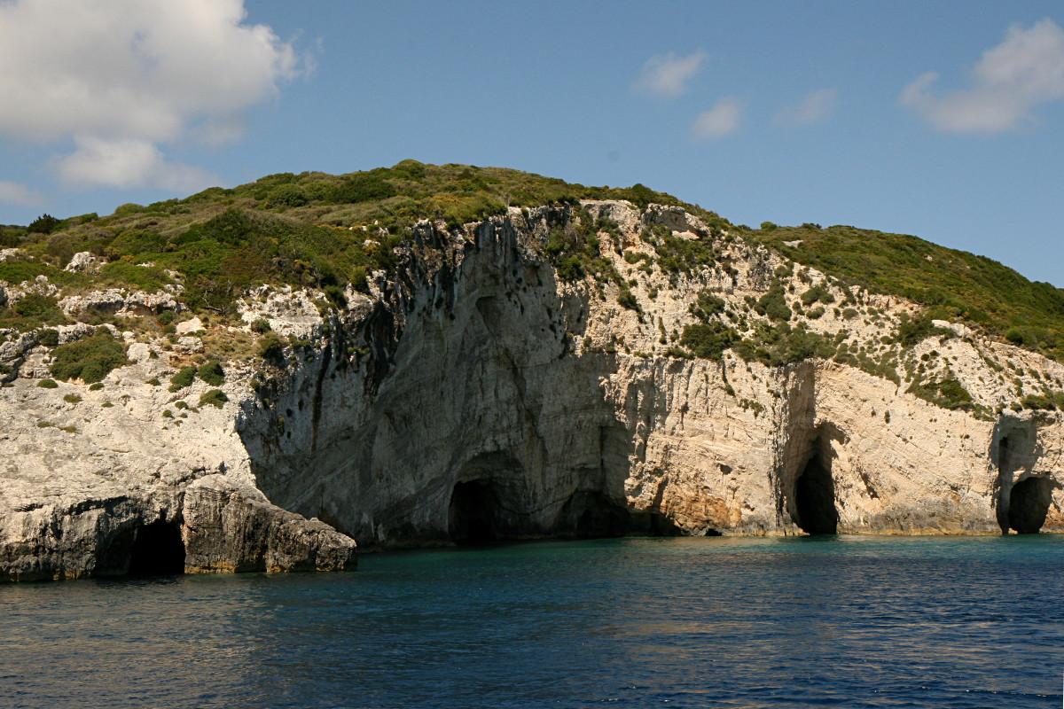 Zakynthos - rejs wokół wyspy