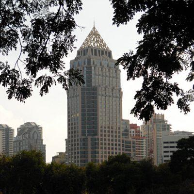 Park w Bangkoku