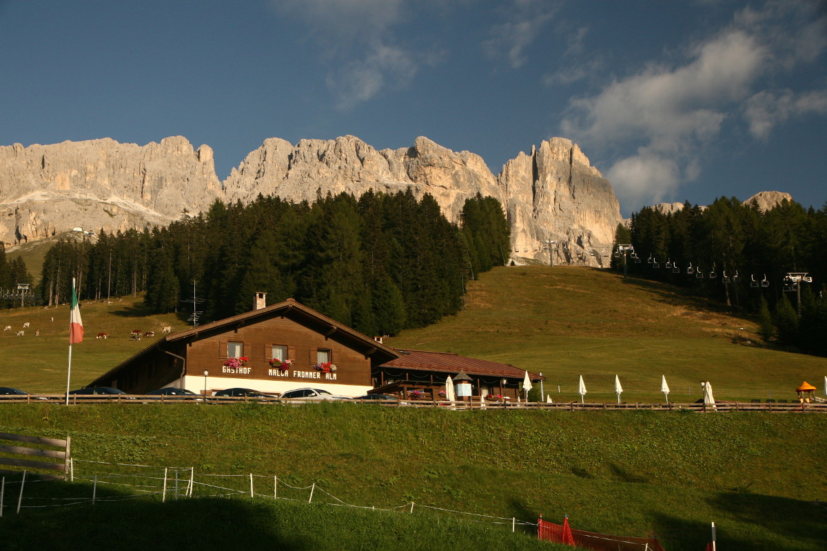 Dolomity - Masyw Catinaccio