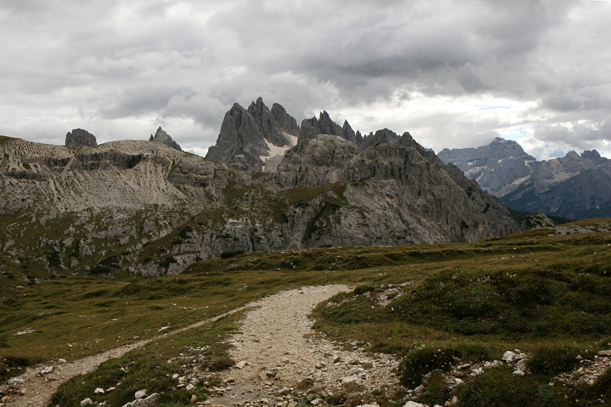 Dolomity – Tre Cime di Lavaredo