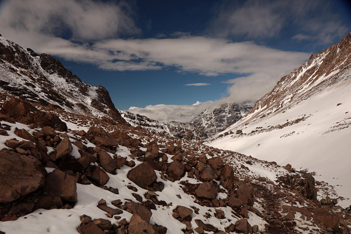 Atlas Wysoki: Imlil – Refugio del Toubkal