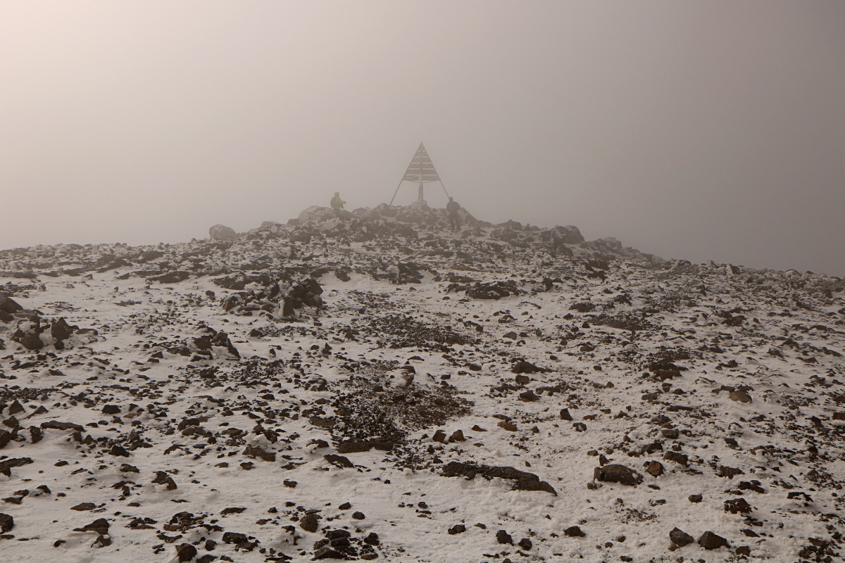Atlas Wysoki: Jebel Toubkal - 4167 m. npm