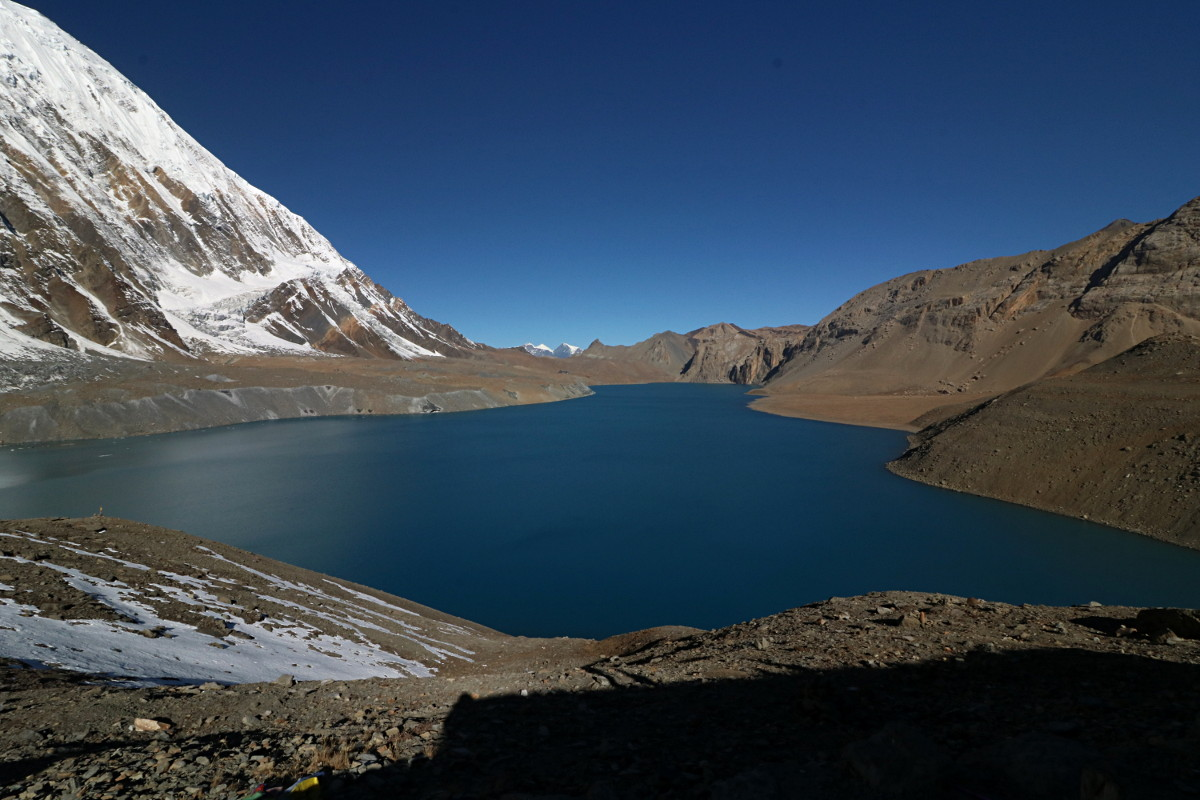 Dzień ósmy: z Tilicho BC do Tilicho Lake i powrót do Khangsar