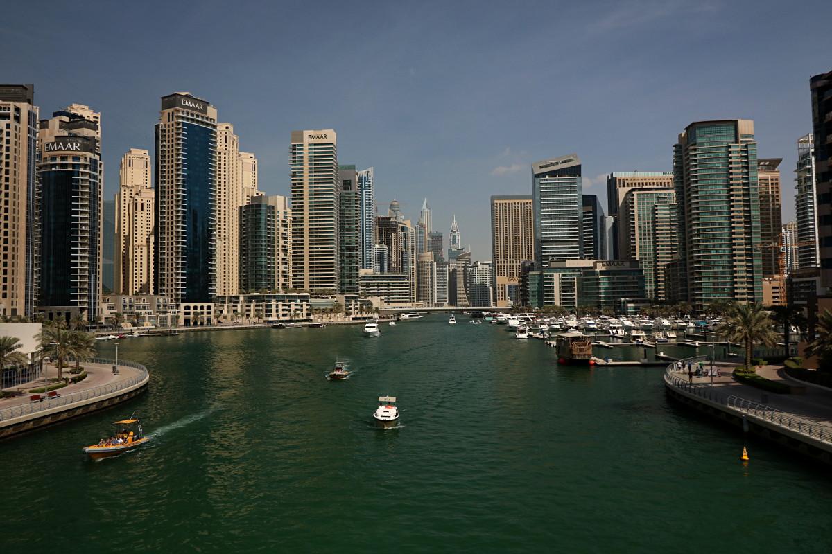 Dubai Marina oraz Deira