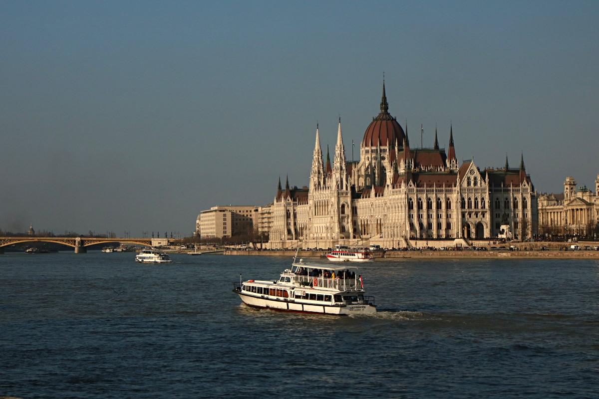 Budapeszt – spacer wzdłuż Dunaju