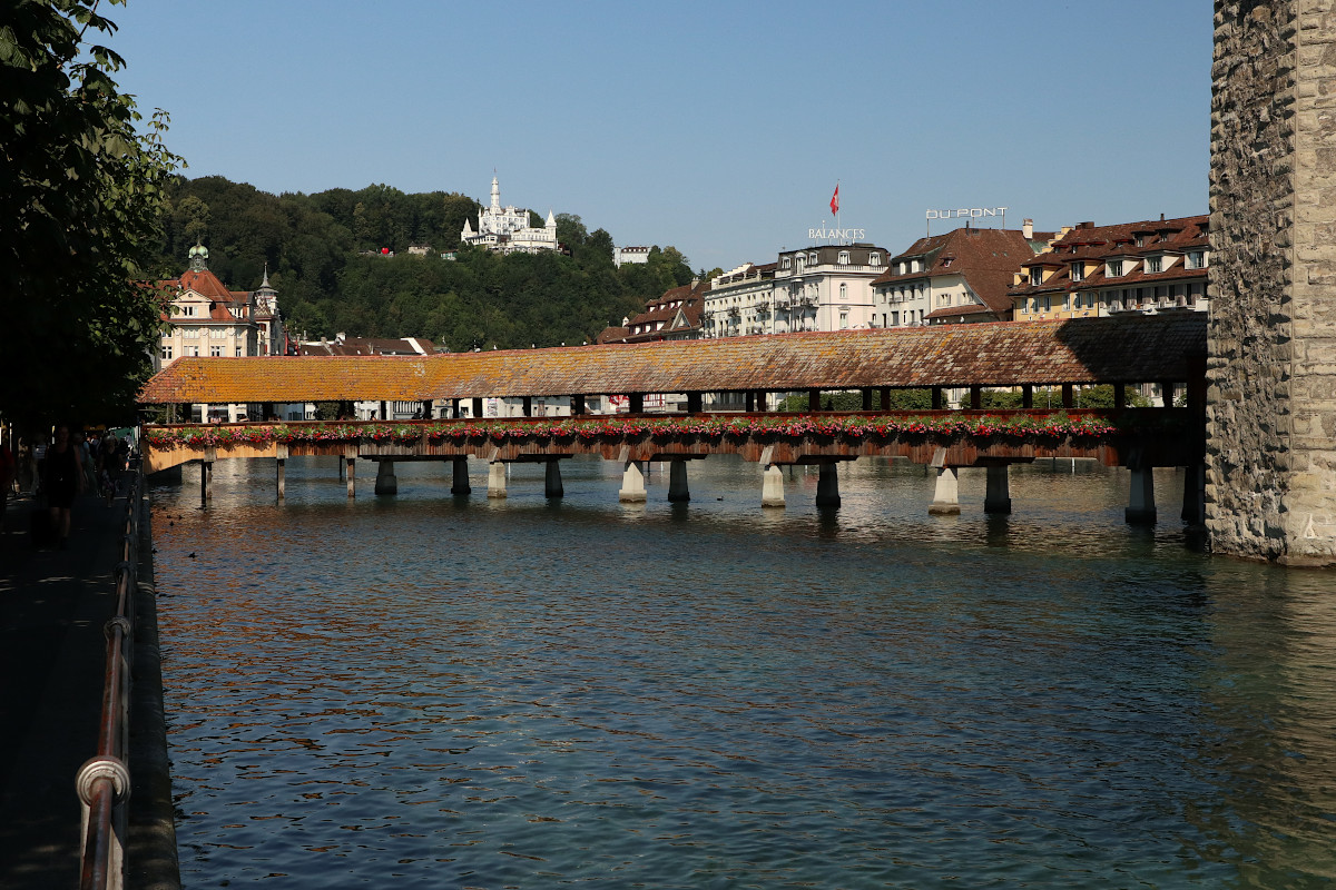 Lucerna – miasto nad Jeziorem Czterech Kantonów