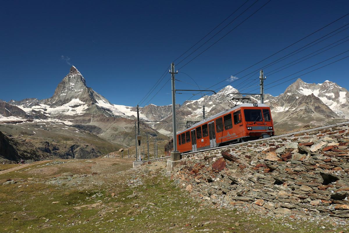 Trekking z widokiem na Matterhorn – Gornergrat (3135m npm)
